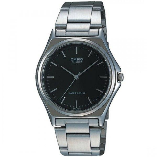 Casio Vintage Unisex Silver Stainless Steel Strap Watch- MTP-1130A-1ARDF (One Size) - For Men and Women - Watchportal Philippines