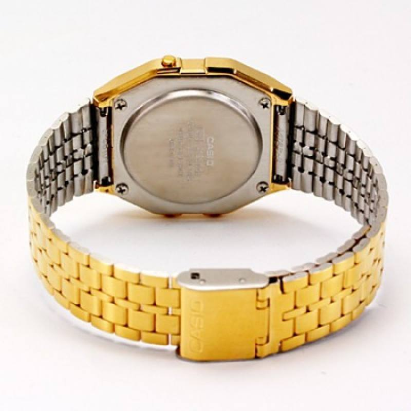 Casio Vintage A159WGEA-5D Gold Plated Watch for Men and Women - Watchportal Philippines