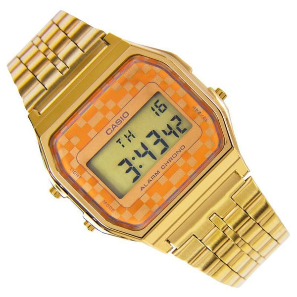 Casio Vintage A159WGEA-9A Gold Plated Watch for Men and Women - Watchportal Philippines
