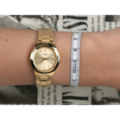 Casio LTP-1170N-9A Gold Plated Watch for Women - Watchportal Philippines