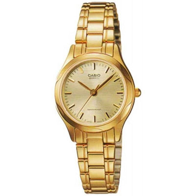 Casio  LTP-1275G-9A Gold Plated Stainless Steel Watch for Women - Watchportal Philippines