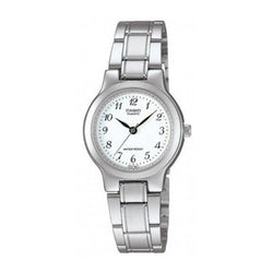 Casio Vintage Women's Silver Stainless Steel Strap Watch- LTP-1131A-7BRDF - Watchportal Philippines