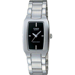 Casio Vintage Women's Silver Stainless Steel Strap Watch- LTP-1165A-1CDF - Watchportal Philippines