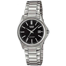 Watches - Casio Vintage Women's Silver Stainless Steel Strap Watch- LTP-1183A-1ADF