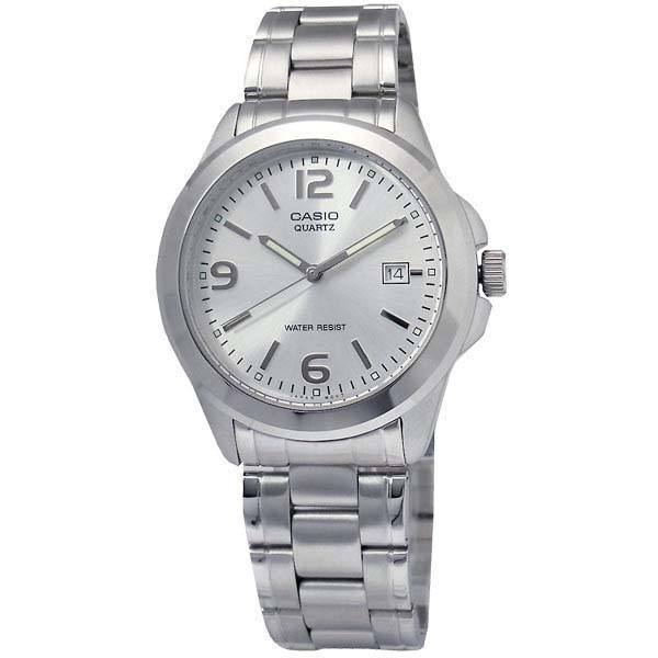 Watches - Casio Vintage Women's Silver Stainless Steel Strap Watch- LTP-1215A-7ADF