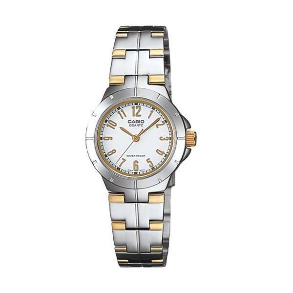 Casio LTP-1242SG-7A Silver Stainless Steel Strap Watch for Women - Watchportal Philippines