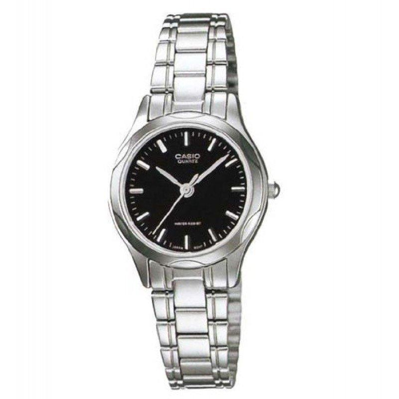 Casio LTP-1275D-1ADF Silver Stainless Steel Watch for Women - Watchportal Philippines