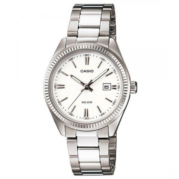 Casio Vintage Women's Silver Stainless Steel Strap Watch- LTP-1302D-7A1VDF - Watchportal Philippines