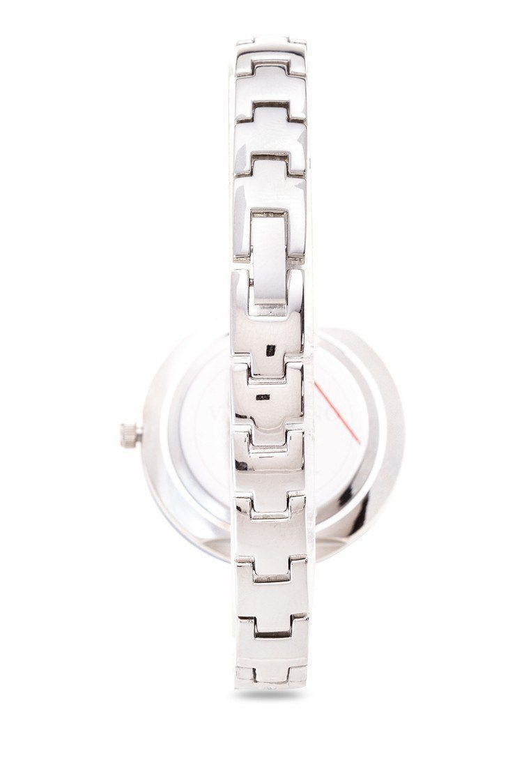 Watches - Valentino CJ IP LUXE WOMEN  FASHION METAL - ALLOY Strap Watch 20121898-SILVER - BLUE RING