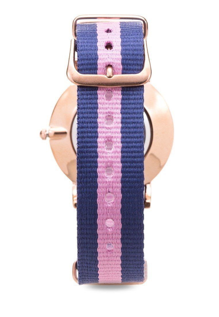 Watches - Valentino D WELLINGTON RG L WOMEN  NYLON STRAP Strap Watch 20121902-DBLUE WHT PINK - STONE