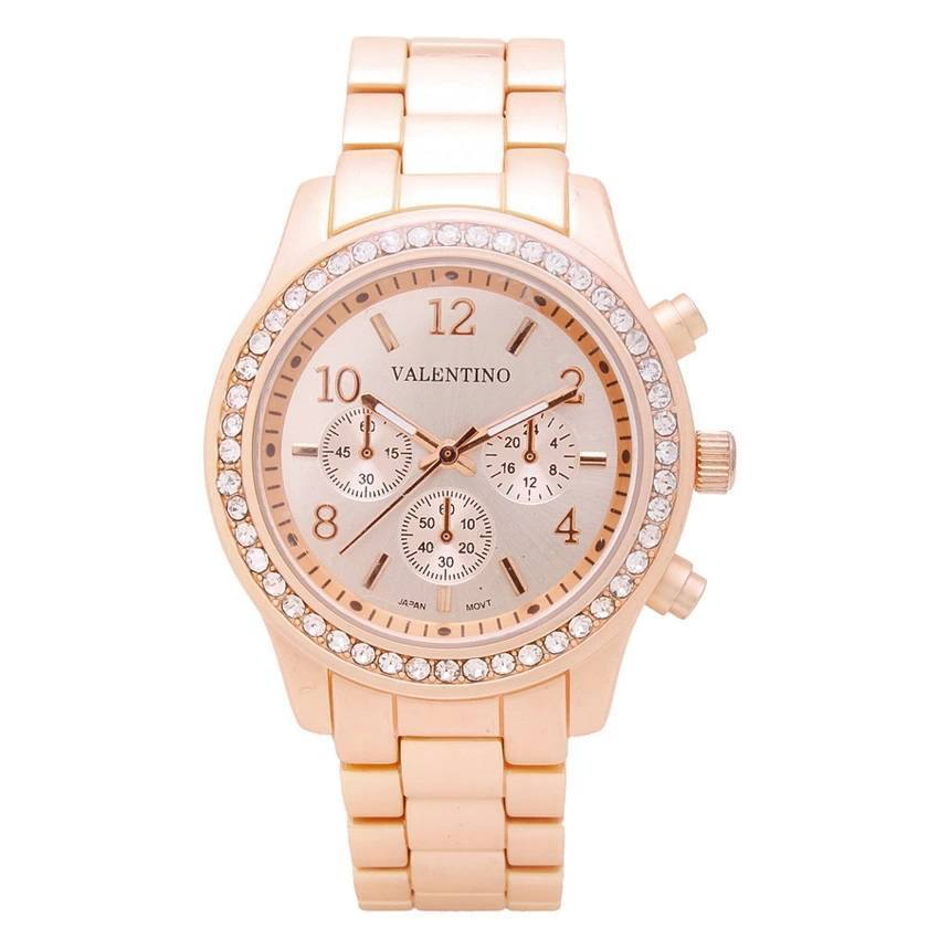 Watches - Valentino EXCALIBUR IP JUNIOR WOMEN  STAINLESS BAND Strap Watch 20121726-ROSE GOLD
