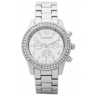 Watches - Valentino EXCALIBUR IP JUNIOR WOMEN  STAINLESS BAND Strap Watch 20121726-SILVER