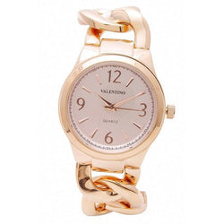 Watches - Valentino MK FASHION STYLE WOMEN  FASHION METAL - ALLOY Strap Watch 20121769-ROSE GOLD