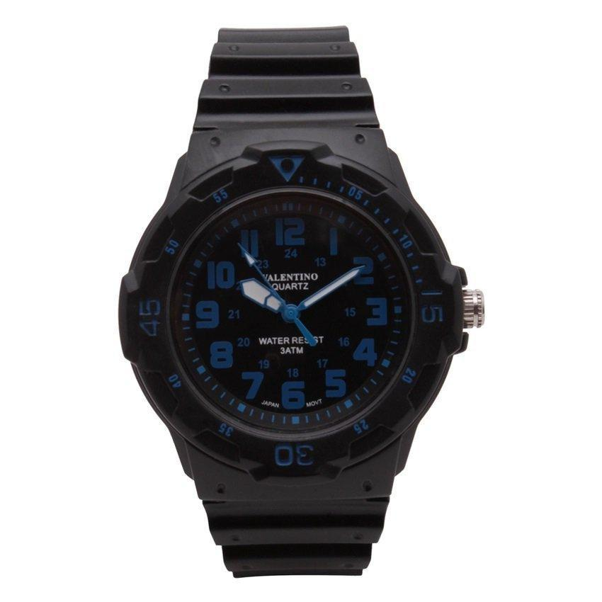 Watches - Valentino MRW SPORTS STYLE MEN  RUBBER STRAP Strap Watch 20121811-BLUE INDEX