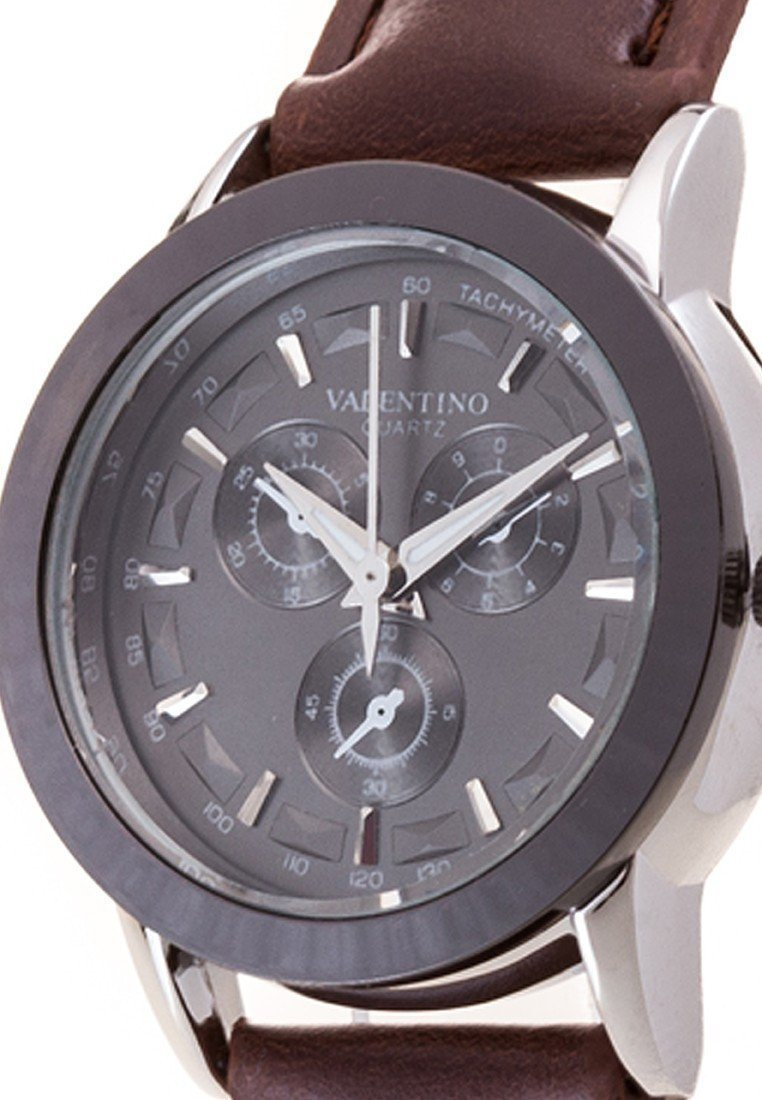 Watches - Valentino RADLEY LTHR IP STYLE WOMEN  LEATHER STRAP Strap Watch 20121934-BLK RING - BLK DIAL
