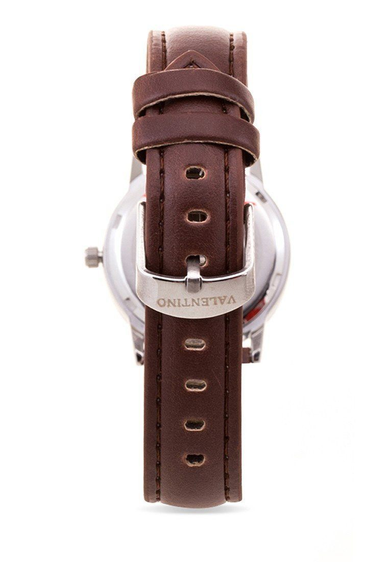 Watches - Valentino RADLEY LTHR IP STYLE WOMEN  LEATHER STRAP Strap Watch 20121934-BLK RING - SIL DIAL