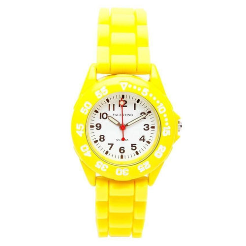 Watches - Valentino RUBBER X PRO L WOMEN  RUBBER STRAP Strap Watch 20121481-YELLOW