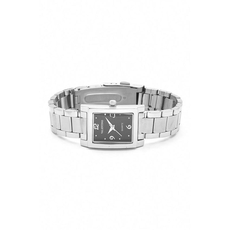 Watches - Valentino SHEEN IP WHITE STYLE WOMEN  STAINLESS BAND Strap Watch 20121783-SILVER - BLACK NUMBER