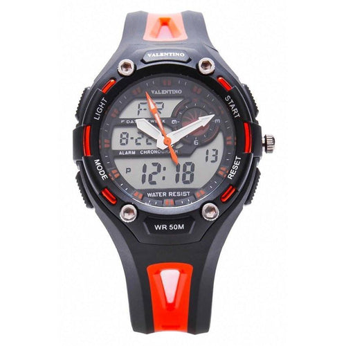 Watches - Valentino SPORTS DIGI ANA L WOMEN  RUBBER STRAP Strap Watch 20121264-ORANGE