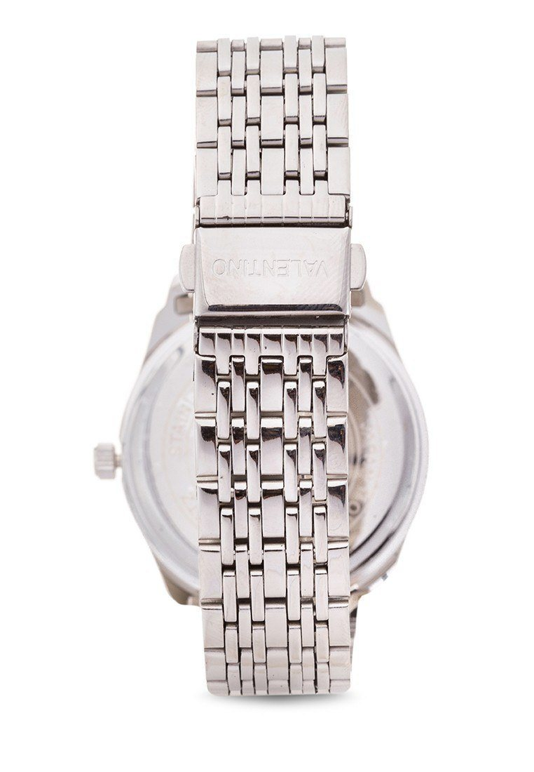 Watches - Valentino STA BARBARA MTL G MEN  STAINLESS BAND Strap Watch 20121913-GOLD DIAL