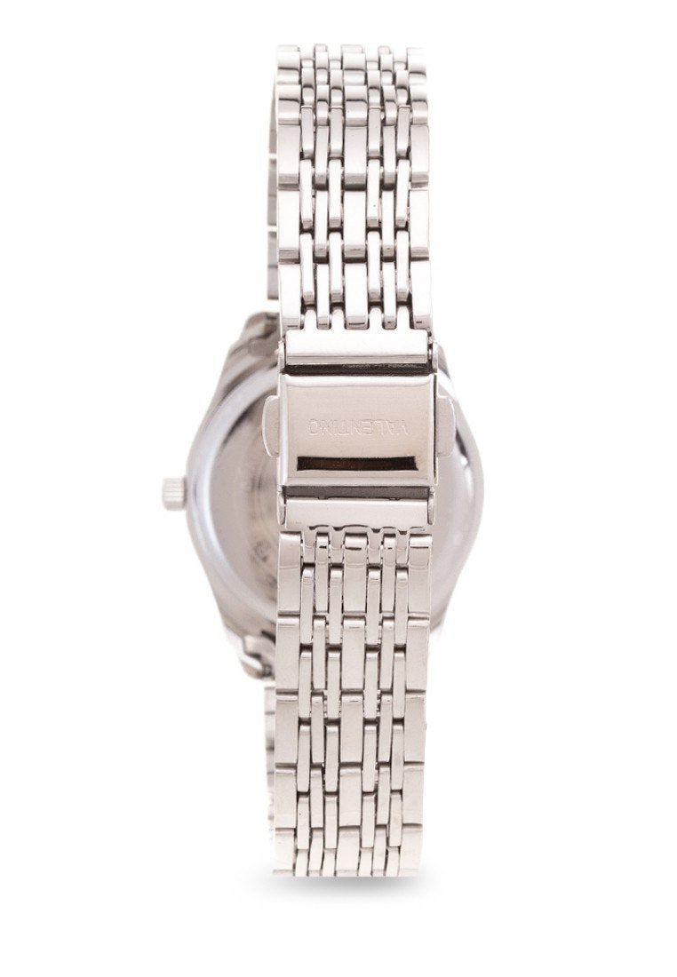 Watches - Valentino STA BARBARA MTL L WOMEN  STAINLESS BAND Strap Watch 20121914-SILVER DIAL
