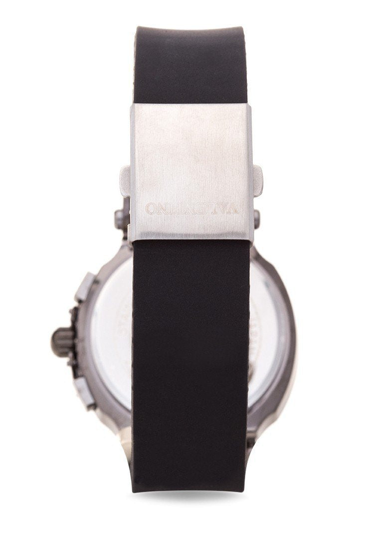 Watches - Valentino TISSOT RUBBER STYLE MEN  RUBBER STRAP Strap Watch 20121910-BLK - BLACK DIAL
