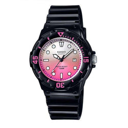 Casio LRW-200H-4EVDR Black Resin Strap Watch for Women