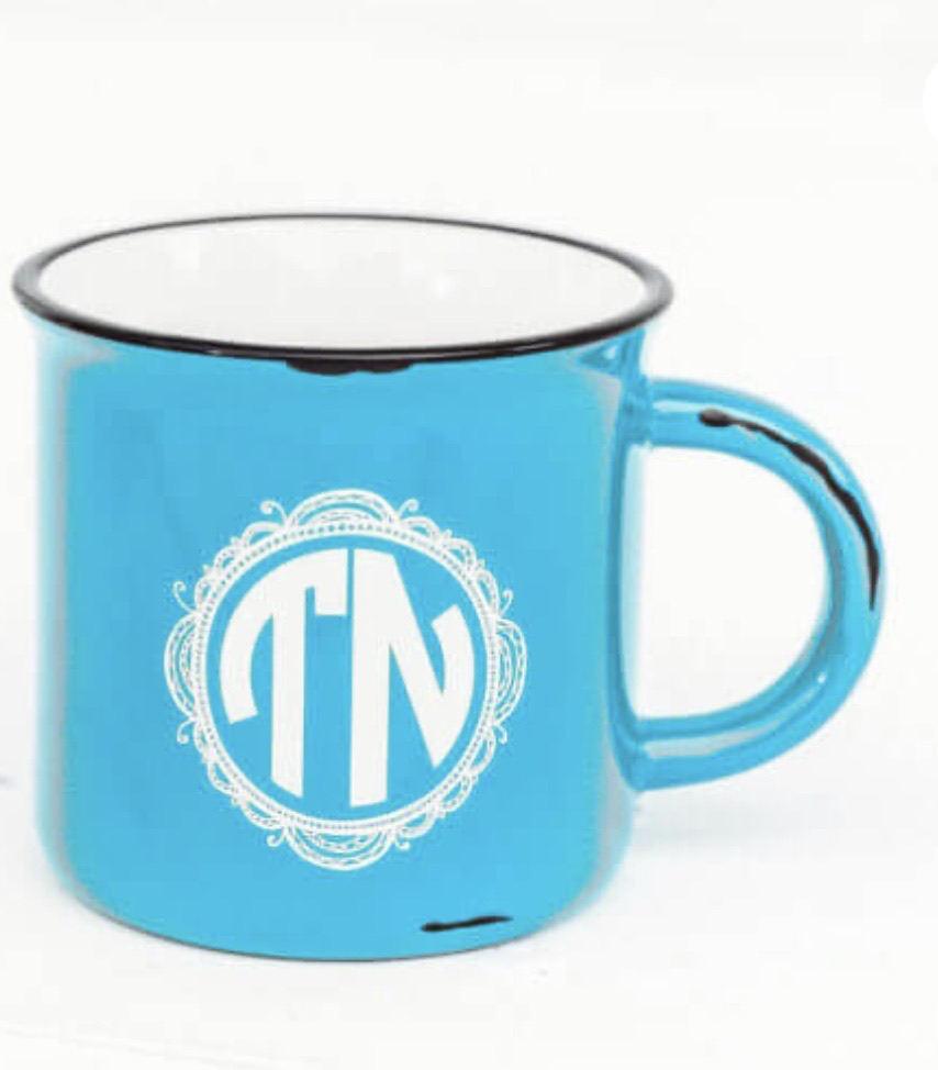 TN Blue Coffee Cup