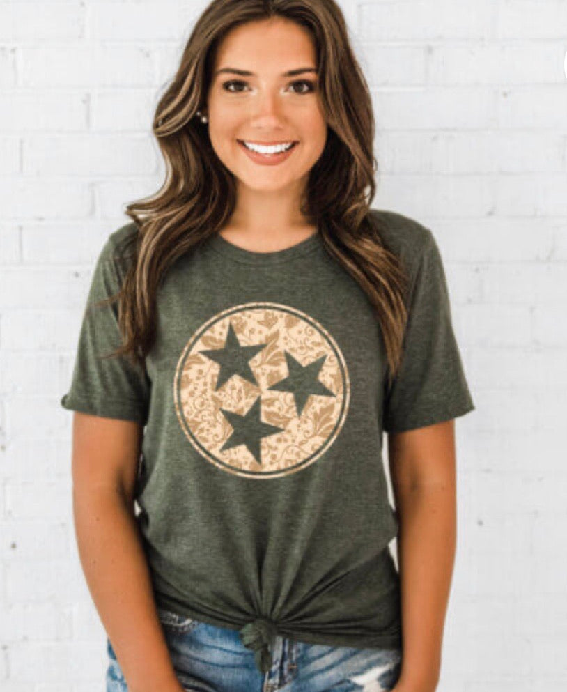 TN Green Tristar Top