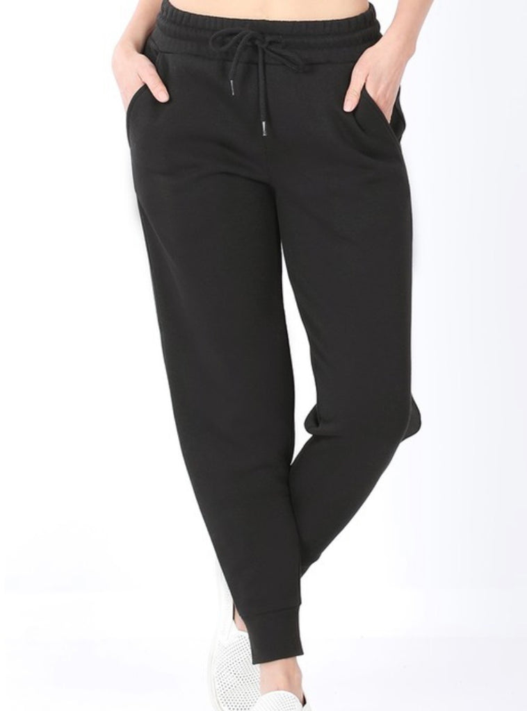 Deal of the Day Black Joggers ASHE