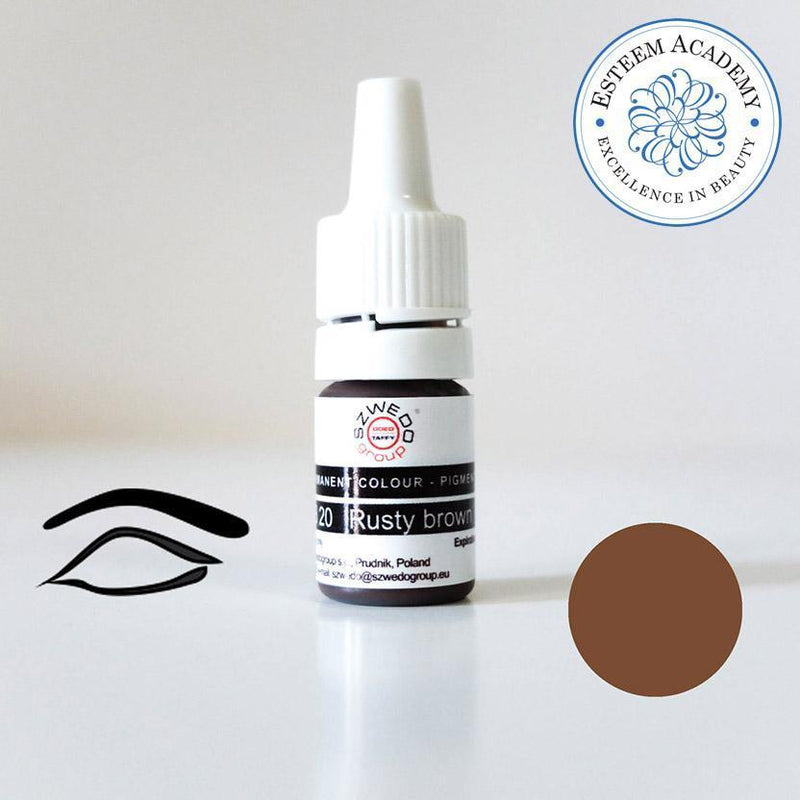 Szwedo Group B20 Rusty Brown - Eyebrow Pigment