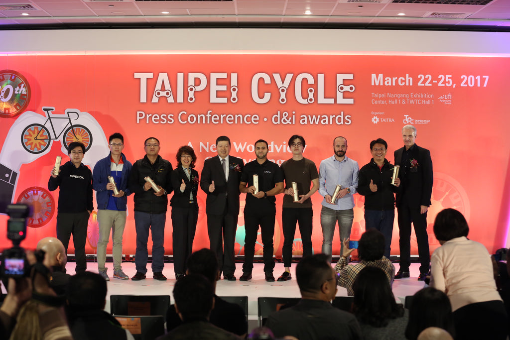LINKA Wins Design & Innovation Gold Award at Taipei International Cycle Show