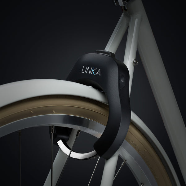 LINKA Black Smart Bike Lock