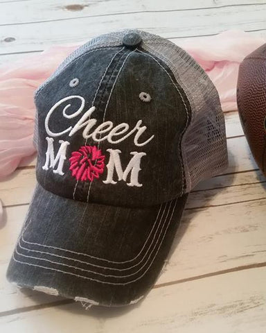 5134bb7b2cf ... Ladies Cheer Mom Trucker Hat ...