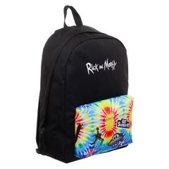 Rick and Morty Tye Dye Backpack  Rick and Morty Inspired Tye Dye Bag