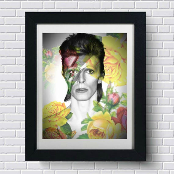 David Bowie Wall Art Artwork Canvas Poster Art Print