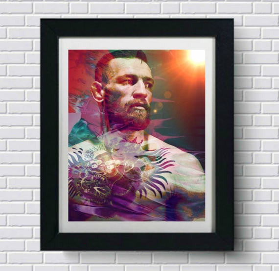 Conor McGregor MMA Wall Art  | Lisa Jaye Art Designs