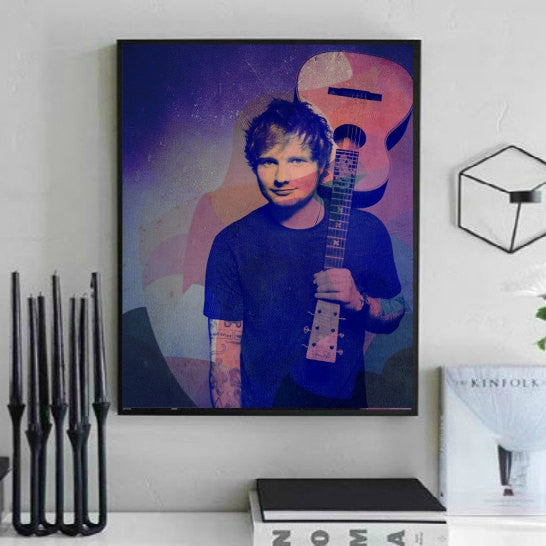 Ed Sheeran Wall Art, Artwork, Poster, Painting