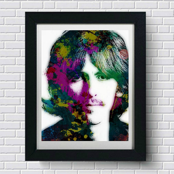 George Harrison Wall Art, Artwork, Poster, Painting