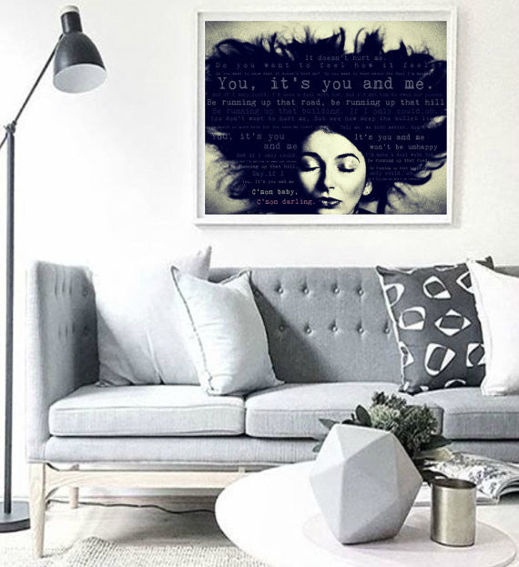 Kate Bush Wall Art  | Lisa Jaye Art Designs