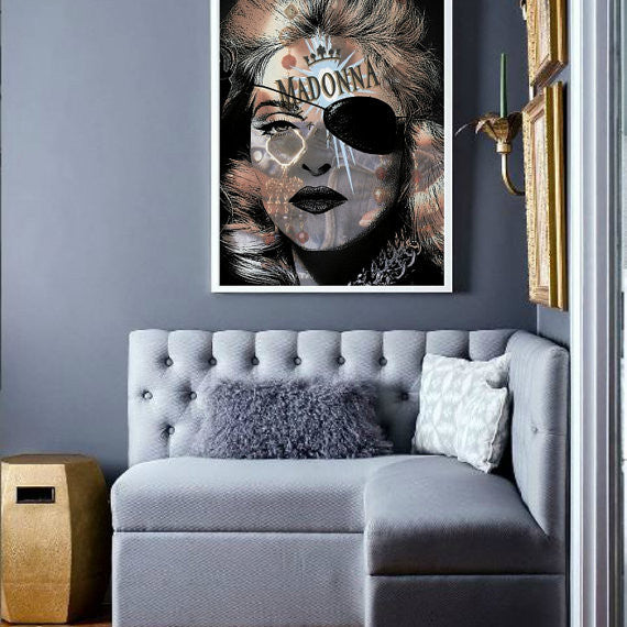 Madonna Like a Virgin Wall Art  | Lisa Jaye Art Designs