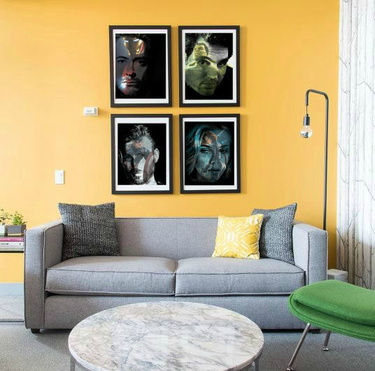 Hulk Mark Ruffalo Wall Art  | Lisa Jaye Art Designs