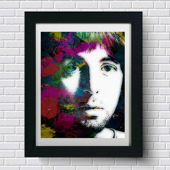 Paul McCartney Wall Art, Artwork, Poster, Painting