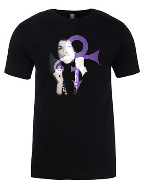 Prince Symbol T-Shirt by Lisa Jaye