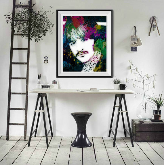 Ringo Star Wall Art, Artwork, Poster, Painting