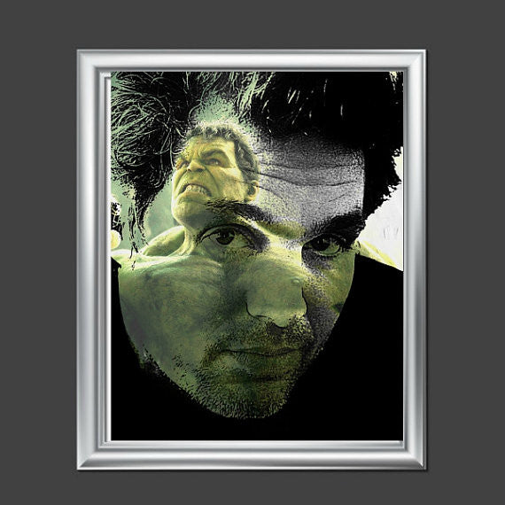 Mark Ruffalo Hulk Avengers Artwork