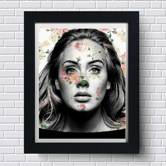 Adele Wall Art Artwork Poster