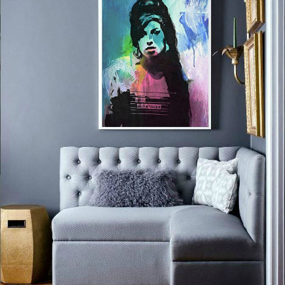 Amy Winehouse Wall Art, Poster