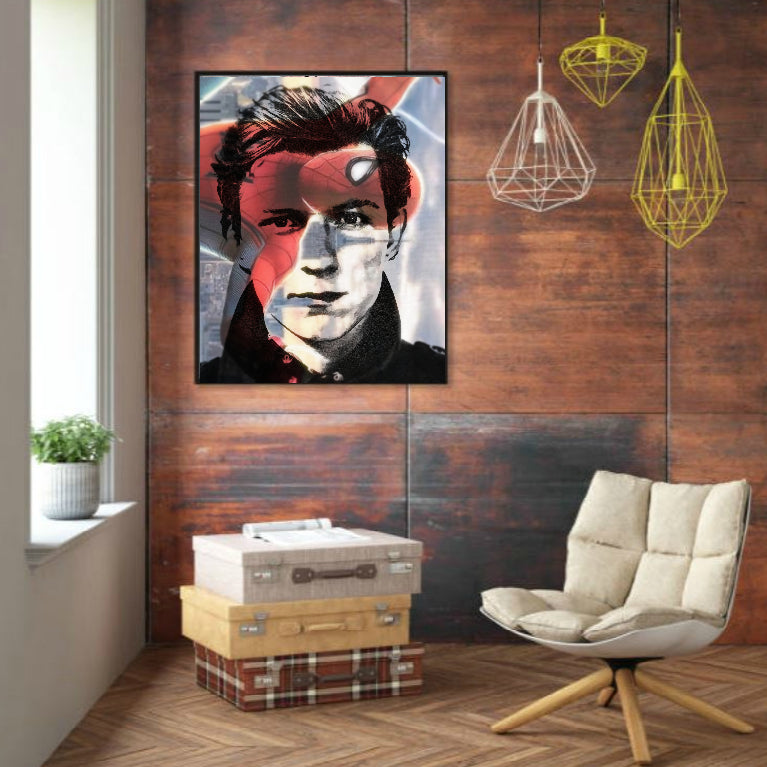 Tom Holland Spider-Man Wall Art Artwork Poster Print Canvas Gift