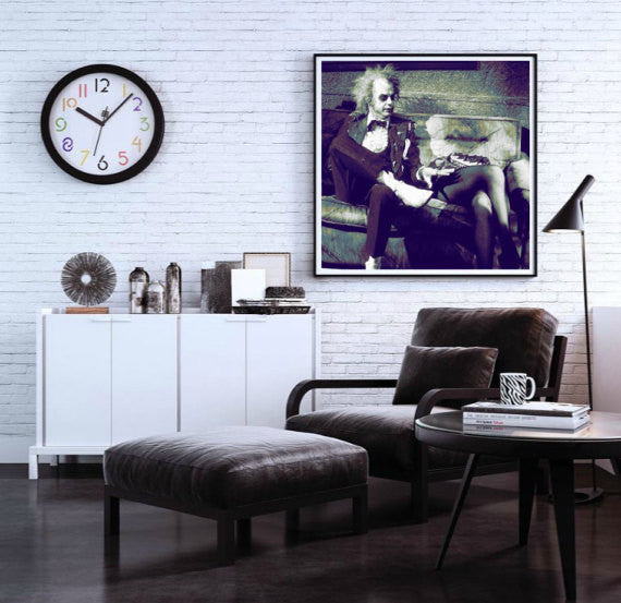 Beetlejuice Wall Art, Canvas, Painting, Poster, Artwork